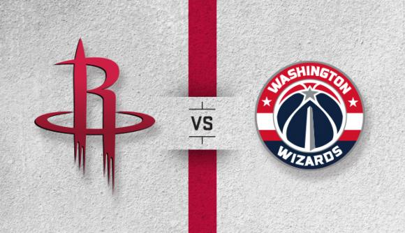 Houston Rockets vs. Washington Wizards at Toyota Center