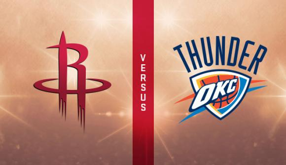 Houston Rockets vs. Oklahoma City Thunder at Toyota Center