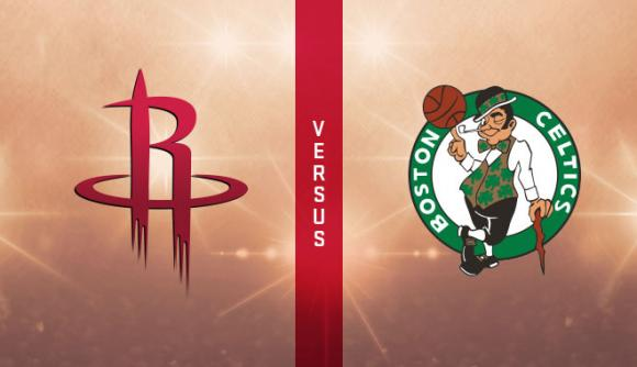 Houston Rockets vs. Boston Celtics at Toyota Center