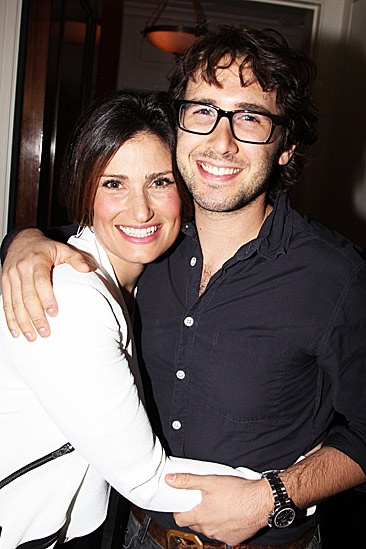 Josh Groban & Idina Menzel at Toyota Center