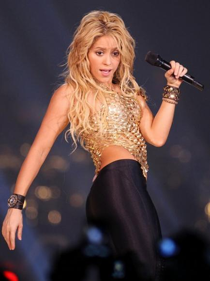 Shakira at Toyota Center
