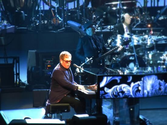 Elton John at Toyota Center