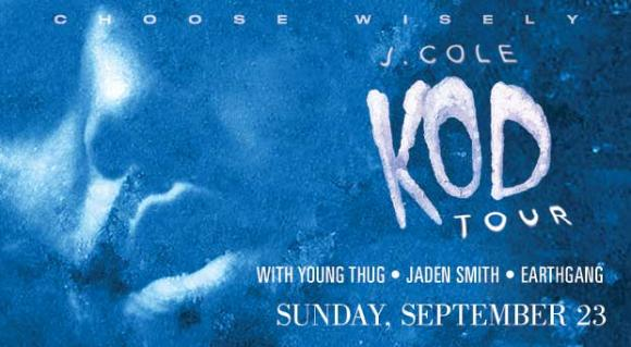 J. Cole, Young Thug, Jaden Smith & EarthGang at Toyota Center