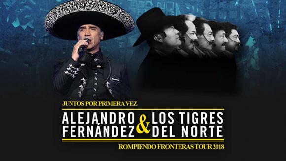 Alejandro Fernandez & Los Tigres Del Norte at Toyota Center