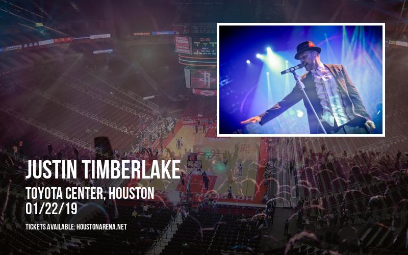 Justin Timberlake at Toyota Center