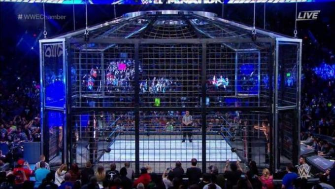 WWE: Elimination Chamber at Toyota Center
