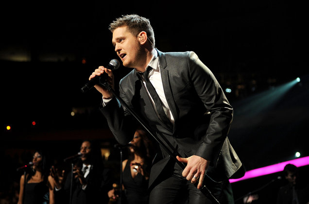 Michael Buble at Toyota Center