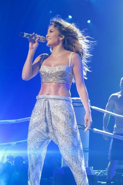 Jennifer Lopez at Toyota Center