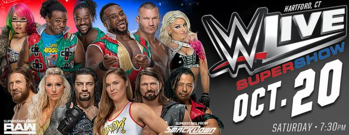 WWE: Live at Toyota Center