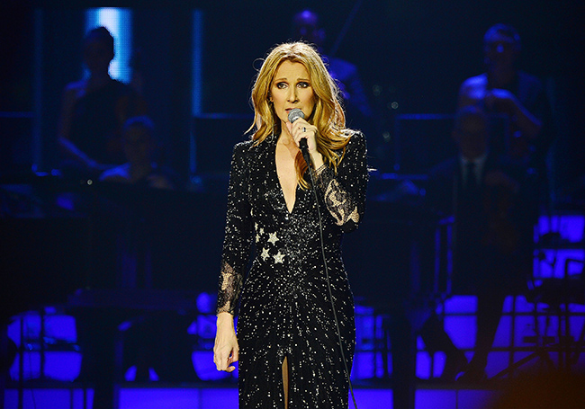 Celine Dion at Toyota Center