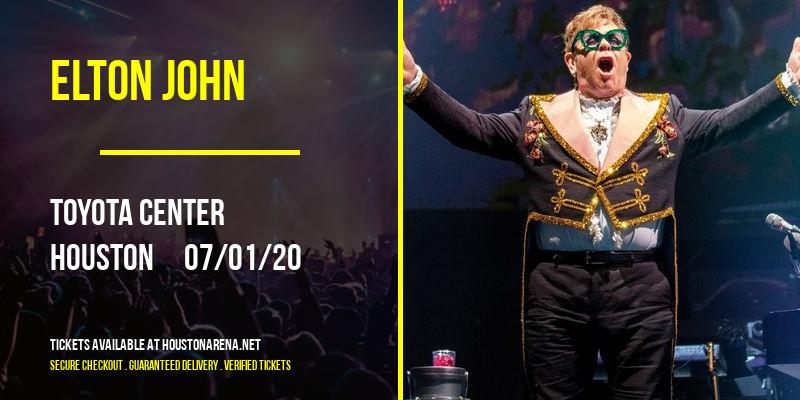 Elton John [POSTPONED] at Toyota Center