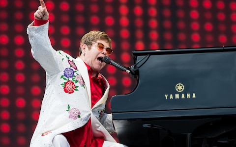 Elton John [POSTPONED] at Toyota Center