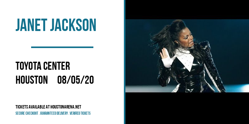 Janet Jackson [CANCELLED] at Toyota Center