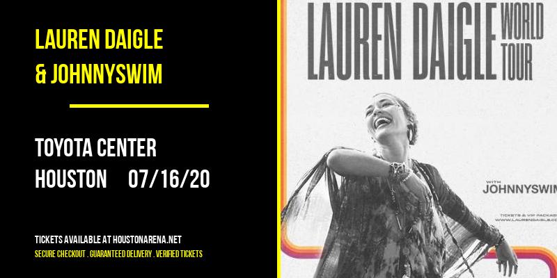 Lauren Daigle & Johnnyswim at Toyota Center