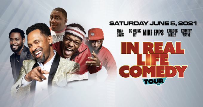 In Real Life Comedy Tour: Mike Epps, Michael Blackson, DC Young Fly, Karlous Miller & Kountry Wayne at Toyota Center