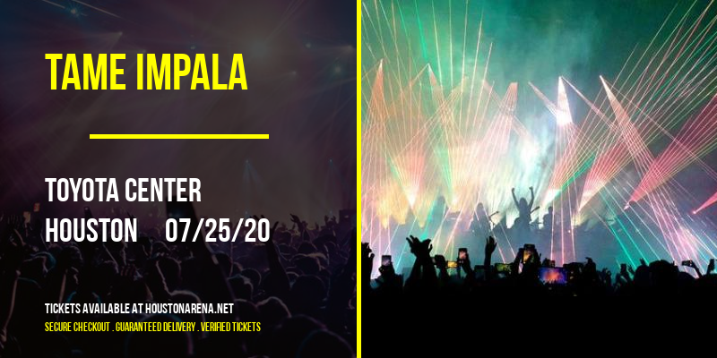 Tame Impala [CANCELLED] at Toyota Center