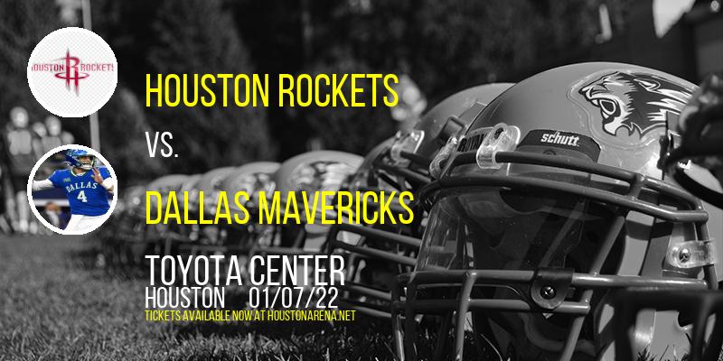 Houston Rockets vs. Dallas Mavericks at Toyota Center