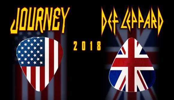 Journey & Def Leppard at Toyota Center
