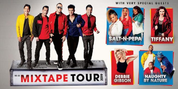 New Kids On The Block, Salt N Pepa & Naughty by Nature at Toyota Center