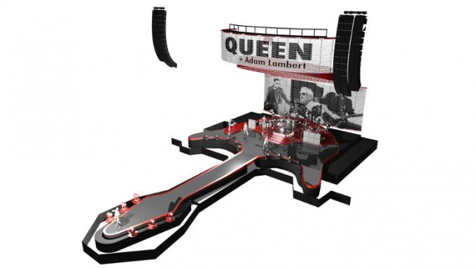 Queen & Adam Lambert at Toyota Center