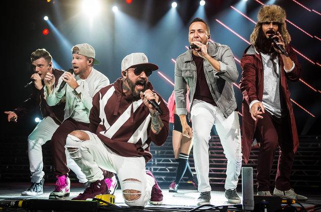 Backstreet Boys at Toyota Center