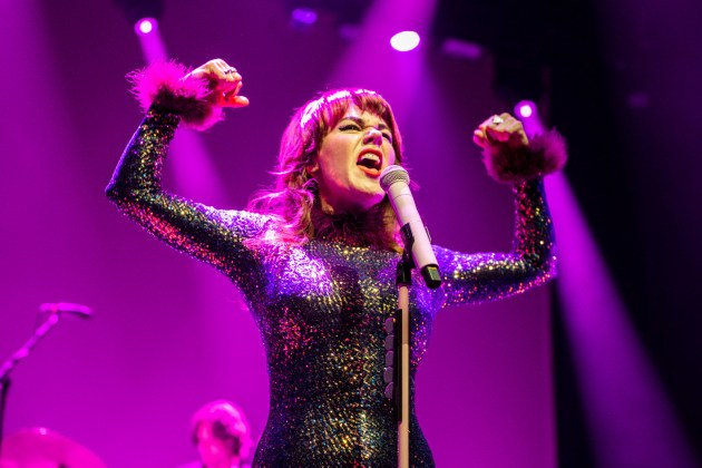 Harry Styles & Jenny Lewis at Toyota Center