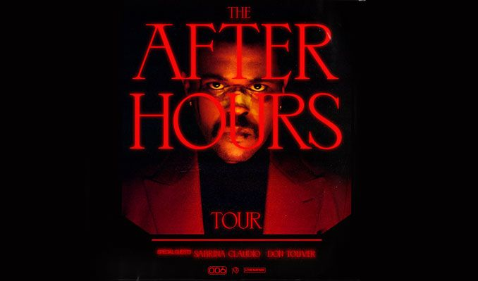 The Weeknd, Sabrina Claudio & Don Toliver at Toyota Center