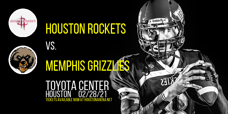Houston Rockets vs. Memphis Grizzlies at Toyota Center