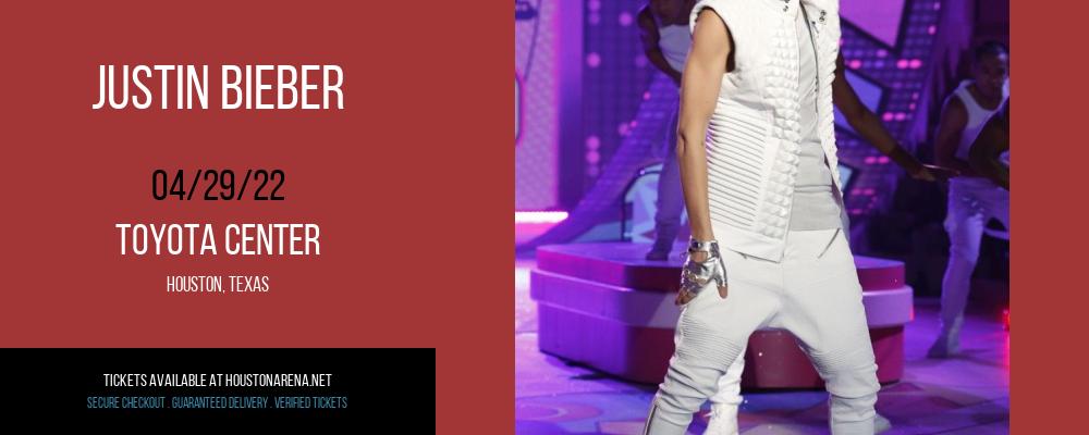 Justin Bieber at Toyota Center
