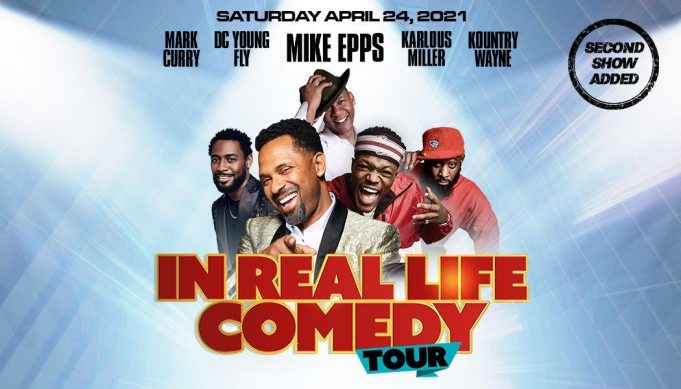 In Real Life Comedy Tour: Mike Epps, Mark Curry, DC Young Fly, Karlous Miller & Kountry Wayne at Toyota Center