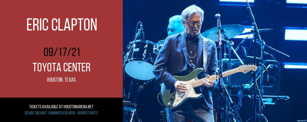 Eric Clapton at Toyota Center